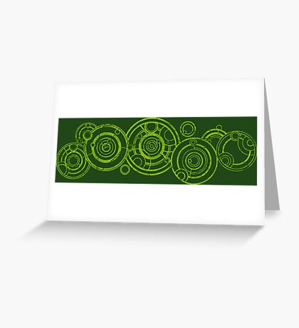 Doctor Who - The Doctor's name in Gallifreyan #3bis Greeting Card