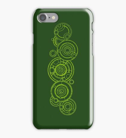 Doctor Who - The Doctor's name in Gallifreyan #3bis iPhone Case/Skin