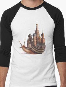 The Snail's Daydream Men's Baseball ¾ T-Shirt