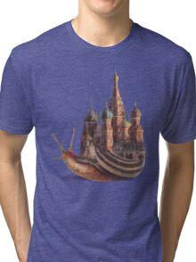 The Snail's Daydream Tri-blend T-Shirt