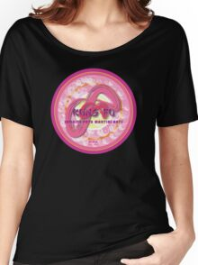 Infinite Path Martial Arts - Mandala - Pink Women's Relaxed Fit T-Shirt