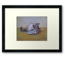 Tough as old Boots !!!!! Framed Print