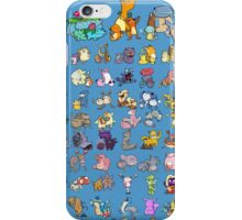 Gotta' Derp 'em all! - Blue edition iPhone Case/Skin