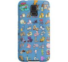 Gotta' Derp 'em all! - Blue edition Samsung Galaxy Case/Skin
