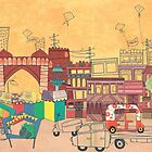 Ahmedabad Amdavad - Postcard from India by studiowotmot