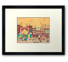 Ahmedabad Amdavad - Postcard from India Framed Print