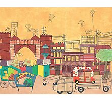 Ahmedabad Amdavad - Postcard from India Photographic Print
