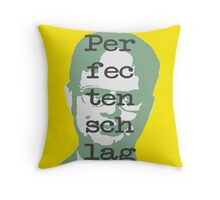 Perfectenschlag Throw Pillow