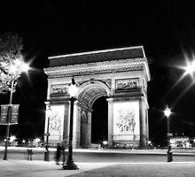 L'Arc de Paris by JurrPhotography