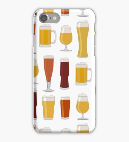 Beer Glasses iPhone Case/Skin