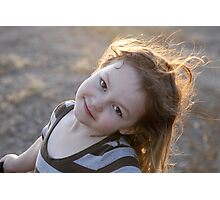 Posed & Ready Photographic Print