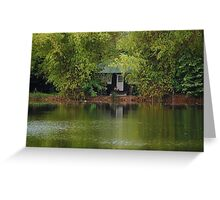 Ninoy Aquino Park and Wildlife Nature Center Lagoon Cottage Greeting Card