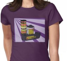 Obsolete Film - V2 Womens Fitted T-Shirt
