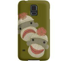 Tragedy and Comedy Sock Monkeys Samsung Galaxy Case/Skin