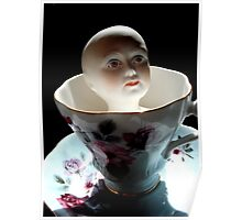 China Doll in a China Teacup Poster
