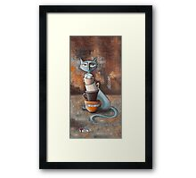 Cattuccino Framed Print