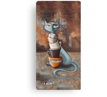 Cattuccino Canvas Print
