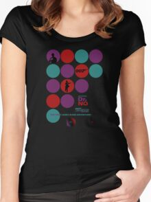 Dr. No Women's Fitted Scoop T-Shirt