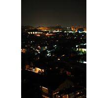slum area Photographic Print