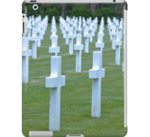 American WWII Cemetery - Colleville s/Mer Normandy France iPad Case/Skin