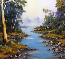 River Gumtrees by John Cocoris