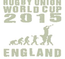 Rugby Union World Cup 2015 England by zandosfactry