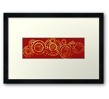 Doctor Who - The Doctor's name in Gallifreyan #2bis Framed Print