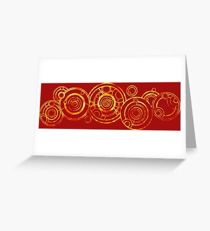 Doctor Who - The Doctor's name in Gallifreyan #2bis Greeting Card