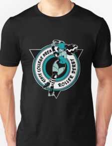 State College Area Roller Derby Logo Unisex T-Shirt