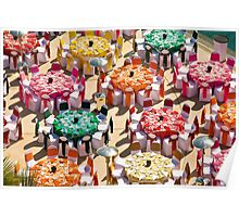 Colorful Luncheon Poster