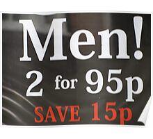 Men For Sale Poster