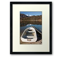 Alpine moods Framed Print