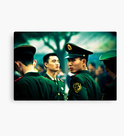 Chinese Military Canvas Print
