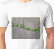Growing Between Cement Cracks Unisex T-Shirt