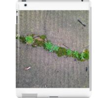 Growing Between Cement Cracks iPad Case/Skin
