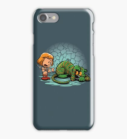Afraid of Your Own Shadow iPhone Case/Skin