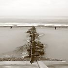 Blackpool Beach by blueandwhite80