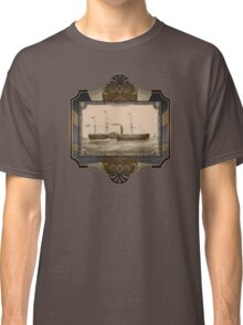 Steamship on Sea. Age of Steam #011 Classic T-Shirt