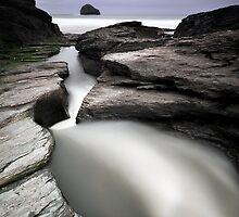 Trebarwith Strand by Tim Edmonds
