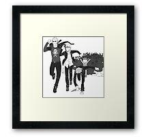 shadow army Framed Print