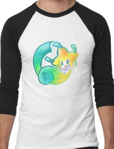 Starry Jirachi Men's Baseball ¾ T-Shirt