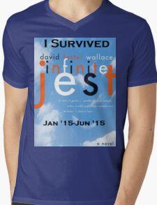 Infinite Jest-Survivor Shirt  Mens V-Neck T-Shirt