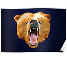 Poly Bear Poster