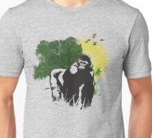 Gorilla Sunset Unisex T-Shirt