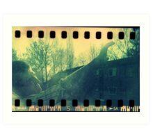 Blazing Sunshine - Warwick, May 2010 Art Print