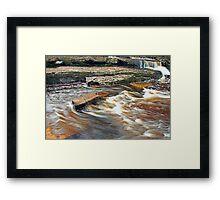 Ennistymon Falls Framed Print