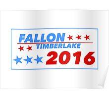 Fallon/Timberlake 2016 Poster