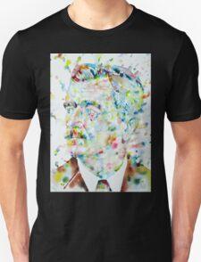 WILLIAM FAULKNER - watercolor portrait.4 Unisex T-Shirt