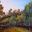 Weeping Willow Creek by John Cocoris