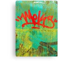 Red Letter Day  Canvas Print